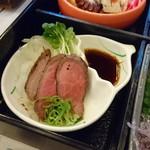 淡路ごちそう館 御食国 - 淡路牛御膳(ローストビーフ)