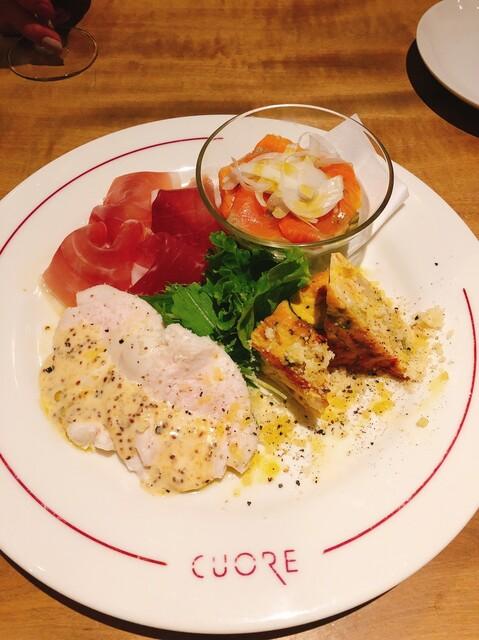 クォーレの料理の写真