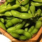 ビショック - 枝豆 480円