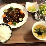 昔ながらの洋食 オールドキッチン - ポークシチューセット 1200円