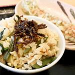宮武うどん - たきこみご飯