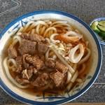 米田食堂 - 料理写真:肉うどん