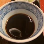 赤坂見附長寿庵 - そば汁