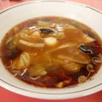 大王ラーメン - 大王つけ麺のつけ汁