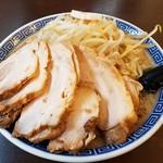 拉麺アイオイ - 料理写真:背油チャーシュー麺1,030円!
