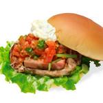 the 3rd Burger - 【期間限定】厚切り!ベーコンサルサチキンバーガー