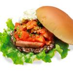 the 3rd Burger - 【期間限定】厚切り!ベーコンサルサバーガー