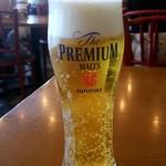 トラットリア・アリオリ - 生ビール:737円