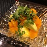 芦屋こはく - 旬野菜カルパッチョ 580円