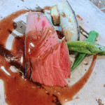 丹波ワインハウス - 京丹波産 鹿腿肉のロースト