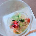 丹波ワインハウス - 夏の地野菜とトマトのジュレ仕立て