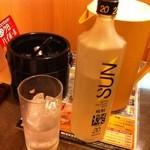 つぼ八 - 焼酎ボトル
