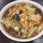 南京亭 - 朝ラー   広東麺