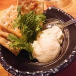 日本酒庵 吟の杜 - 柚子クリームチーズ