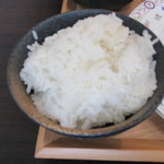 木こり亭 - ご飯