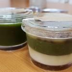 和菓子菓寮ocobo - 緑翠(りょくすい)と抹茶葛寄せ