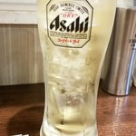 串焼 庭 本格ハルビン - ハイボール:380円+税