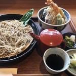 Yuukiteikawashima - 姫ご膳+そば大盛り ¥1300+300