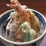 113514286 - 姫ご膳+そば大盛り ¥1300+300 ミニ天丼