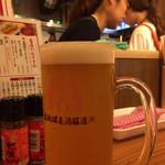 道頓堀麦酒スタンド - 大阪ケルシュ(ジョッキ)