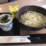 スタート - 湯だめうどん430円(税込)