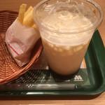 113519657 - ポテト(S)とタピオカ冬瓜茶ミルク