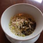 JOE'S SHANGHAI NEWYORK - 高菜、鶏ラーメン
