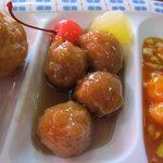 開華園 - 肉団子の甘酢