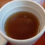 手打そば処 木鉢 - 料理写真:お茶