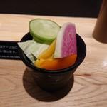 東京恵比寿 串亭 - お通し(500円)