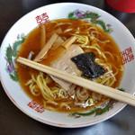 銀蝶 - 料理写真:中華そば 500円