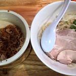 一帆 - 料理写真:THEORY・OF・鶏煮干のつけ麺