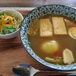 たまご家 おかん - 和風島豆腐スープカレー