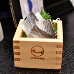 日本酒商店 YODARE - コハダ@490円