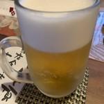 juuwarisobajirou - 生ビール