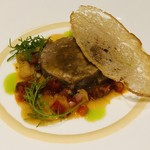 firippumirutoukyou - フランスロゼール産仔羊の煮込み 白シンゲン豆のラグー 高農園産くろべえ茄子とパプリカ