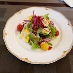 ハミーズ カフェ ダイニング - サラダ