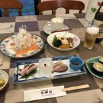 戸隠旅の宿 白樺荘 - 料理写真:トップフォト 文月とある日の夕食