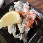 海鮮どんぶりっこ - はたはた飯寿司