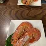 海鮮どんぶりっこ - 巨大えび