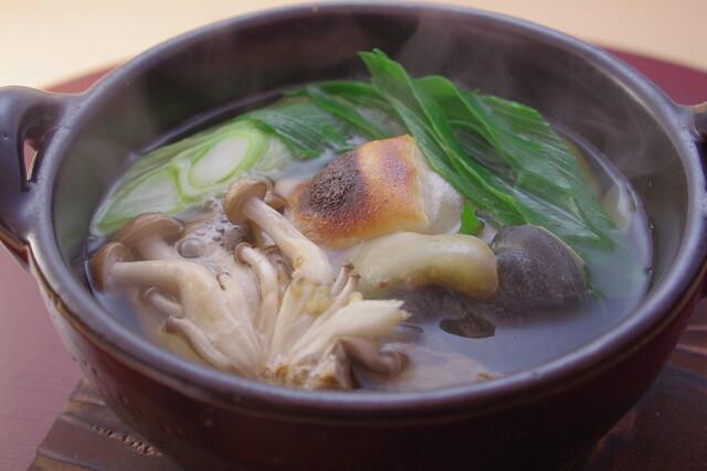 銀座 しまだ - 九条葱とすっぽんの鍋