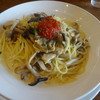 Niorinzu - 料理写真:あさりときのこ(クリームソース)トマトソース添え