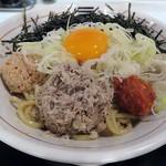烈火 - 料理写真:【山形ひっぱり混ぜそば】¥850