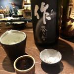 粋なおつまみとお酒 にこ -  作 (三重県)純米吟醸  奏乃智