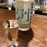 粋なおつまみとお酒 にこ -  洌(山形県)純米吟醸  雄町夏生