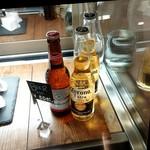 ブック&カフェ ダナポイント - ビールもあります。