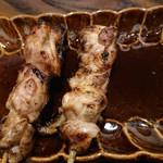 炭火焼鶏×デザート こてつ - 音更産地鶏串 もも 186円