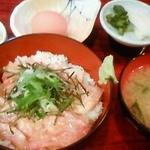 11355314 - 201201 つかさ 活カンパチまかない丼 700円(゜o゜).jpg