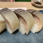 Suehiro - 鯖寿司(6切)♡¥2000(税抜)
