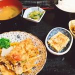 そめ忠 - 料理写真:天婦羅定食。